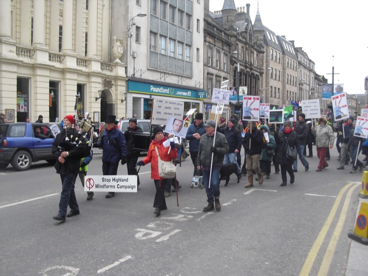 Inverness Protest 2013