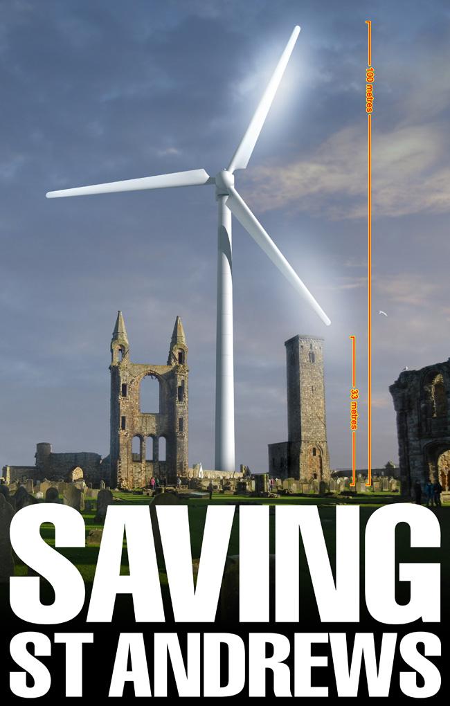 Saving St Andrews poster