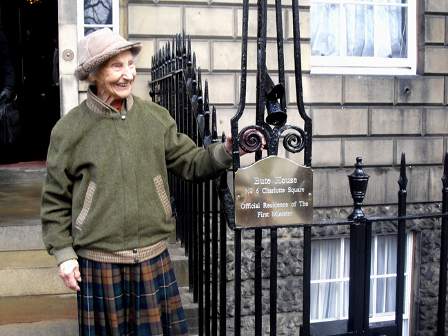 Rhona Weir at Bute House