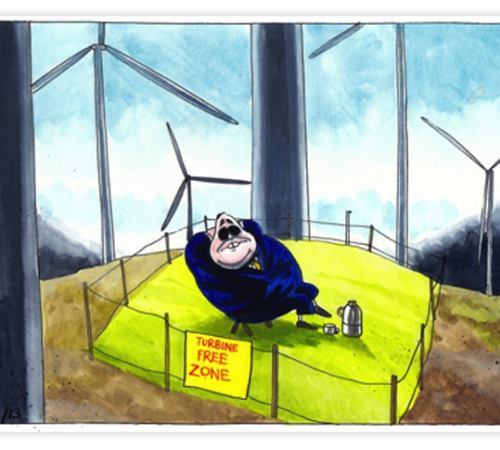 Turbine Free Zone – Iain Green