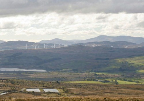 GLENMOUNT WIND FARM, as proposed by RWE (Npower)