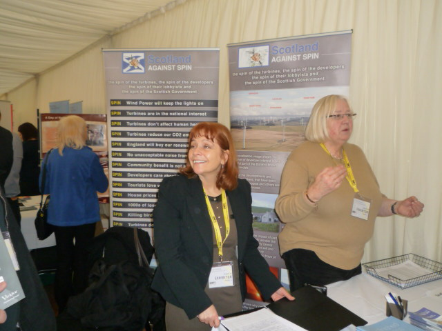 SAS stand at SNP Conference