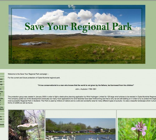 Save Your Regional Park