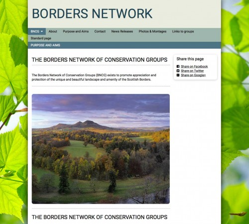 The Borders Network of Conservation Groups
