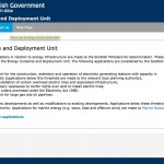 Scottish Government Energy Consents and Deployment Unit - New Online facility
