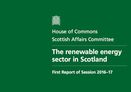 UK Government policy causing uncertainty and risks harming growth in Scotland's renewable energy industry